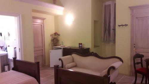 Area soggiorno di Palazzo Mellacqua