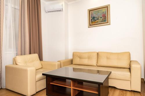 Гостиная зона в Black Sea Guest House