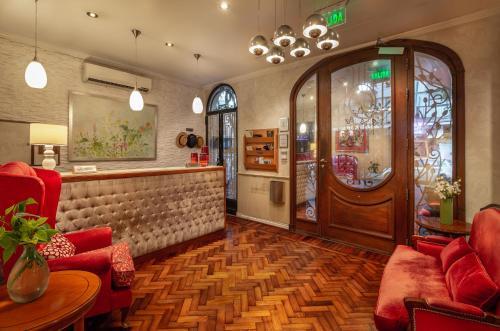 El lobby o recepción de Duque Hotel Boutique & Spa