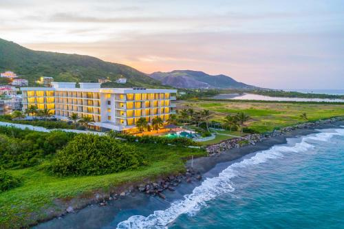 A bird's-eye view of Koi Resort Saint Kitts, Curio Collection by Hilton