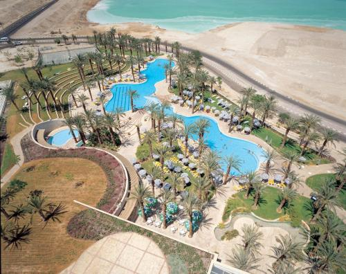 A bird's-eye view of David Dead Sea Resort & Spa