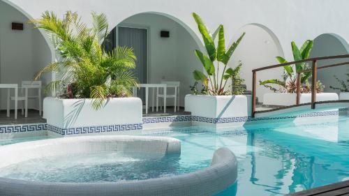 Piscina en o cerca de New! Hotel Mediterráneo Tulum