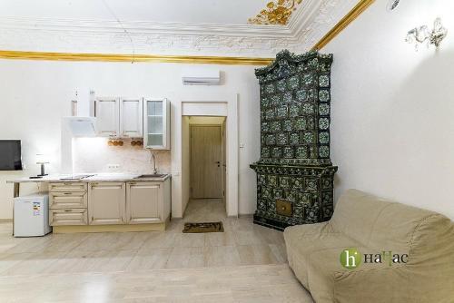 Кухня или мини-кухня в Отель Большой 19