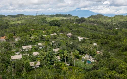 A bird's-eye view of The Mesare Resort