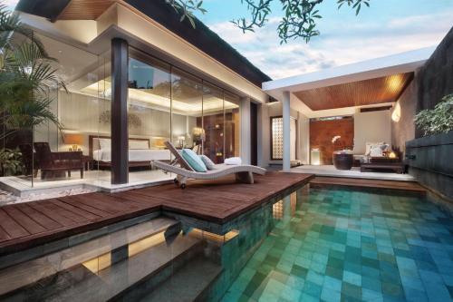 The swimming pool at or close to Bali Mandira Beach Resort & Spa