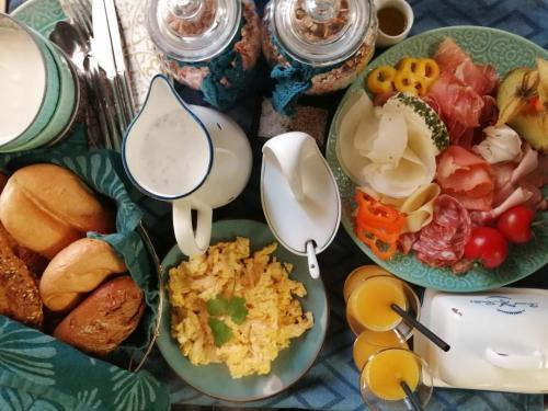 Essen in der Lodge oder in der Nähe
