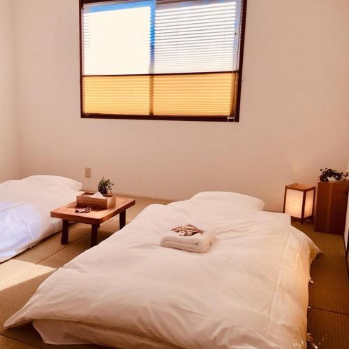 Lantern Kamakuraにあるベッド