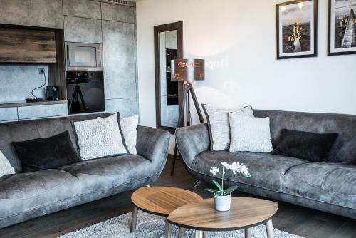 Część wypoczynkowa w obiekcie Apartmán Adélka