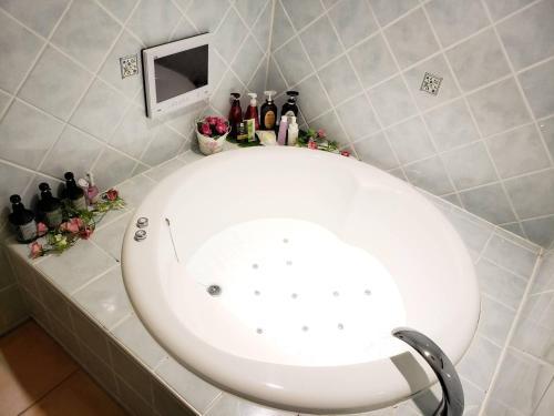 A bathroom at Hotel Sindbad Sendai(Adult Only)