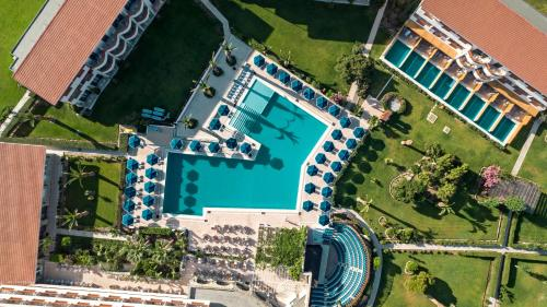 A bird's-eye view of Mitsis Ramira Beach Hotel