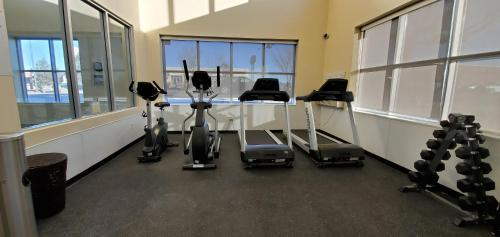 The fitness center and/or fitness facilities at Wingate by Wyndham Lethbridge