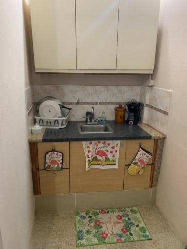 A kitchen or kitchenette at Casita Natural Village #6
