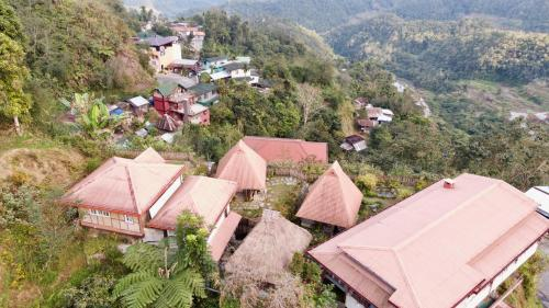 A bird's-eye view of Baleh Boble Guesthouse