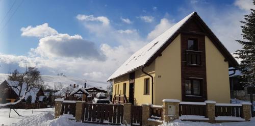 Chata Moja v zimě