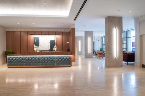 The lobby or reception area at The Colonnade Hotel