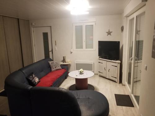 A seating area at La Maison des Joel's