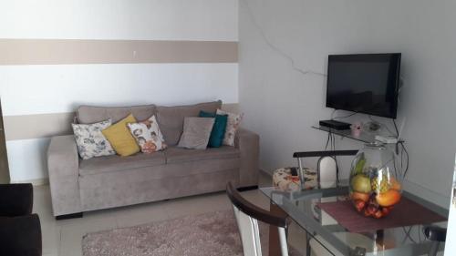 A seating area at CASA PARA TEMPORADA