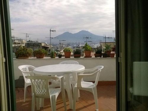 Balcone o terrazza di Casarella Napulegna