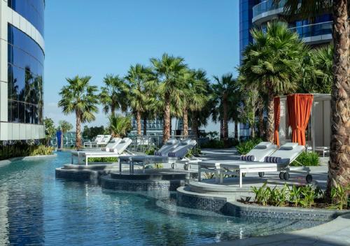 The swimming pool at or close to Paramount Hotel Dubai