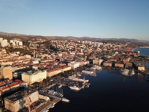 A bird's-eye view of Apartments Budin Rijeka City Center