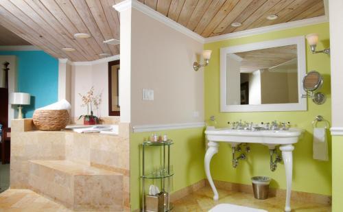 A bathroom at Ocean Key Resort & Spa, a Noble House Resort