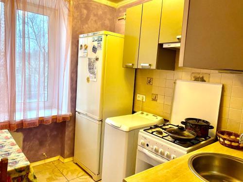 Кухня или мини-кухня в Квартира Екатерины