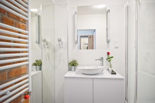 Łazienka w obiekcie ApartHotel Gostyń