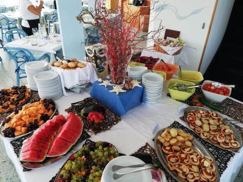 Možnosti snídaně pro hosty v ubytování Hotel Playa Blanca