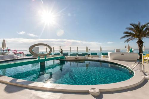 The swimming pool at or near Santos Ibiza - Adults Only