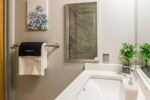 A bathroom at Upscale Waterfront 1BR Apt