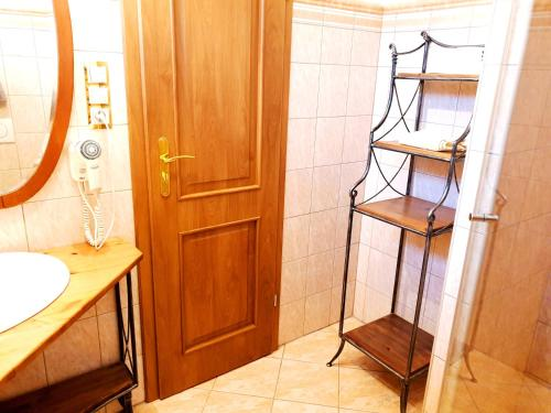 Kúpeľňa v ubytovaní Penzion a Restauracia Toldi