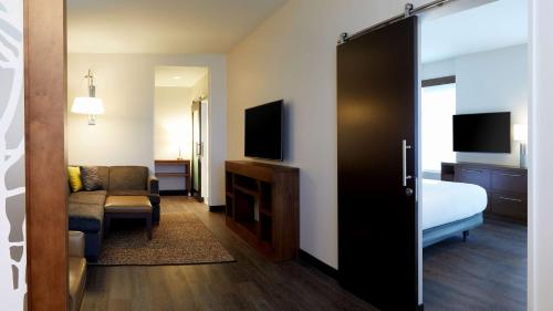 A television and/or entertainment center at Hyatt Place Las Vegas at Silverton Village