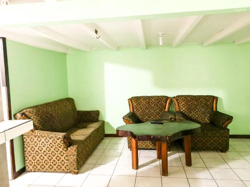 A seating area at La Marsellesa