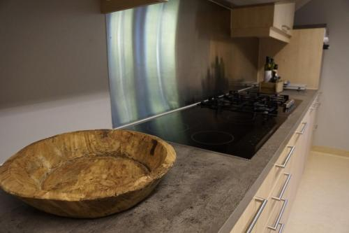 A kitchen or kitchenette at Nyken Resort - The apartment