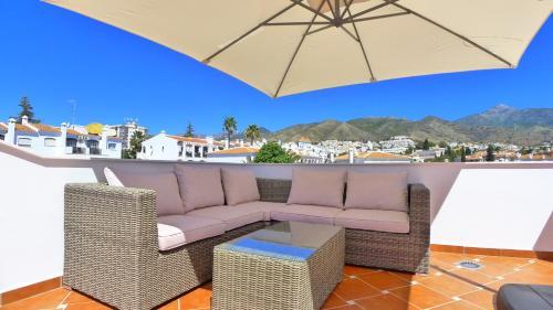 A balcony or terrace at Casa DiTetta