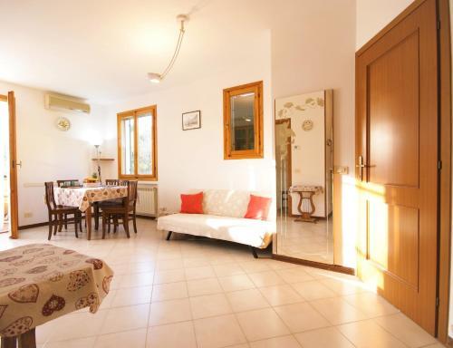 Area soggiorno di Casa Airenti