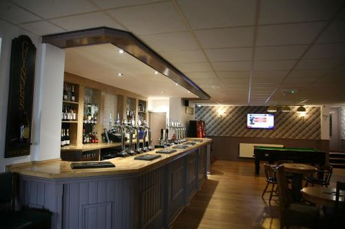 A restaurant or other place to eat at The Fazeley Inn