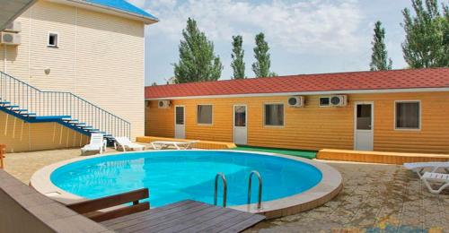 The swimming pool at or near Гостиница Александрия