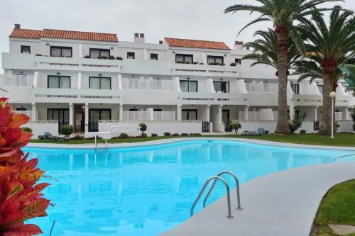 Bazén v ubytování Los Cancajos Apartamento Amelia nebo v jeho okolí