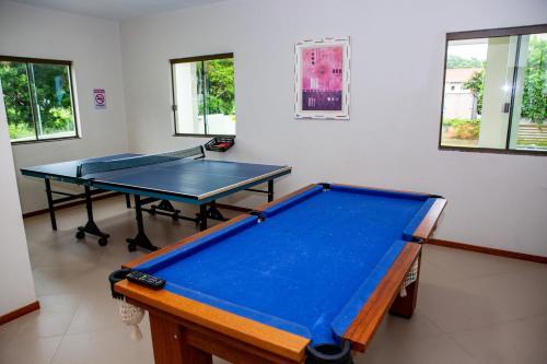 A billiards table at Canto dos Pássaros Flat - Canasvieiras