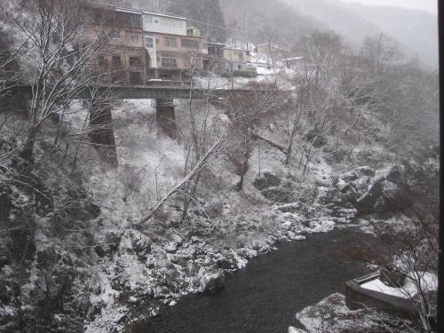 聚樂水上日式旅館冬天相片