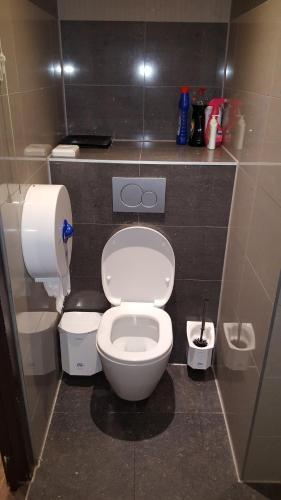 Um banheiro em Amigo Hotel