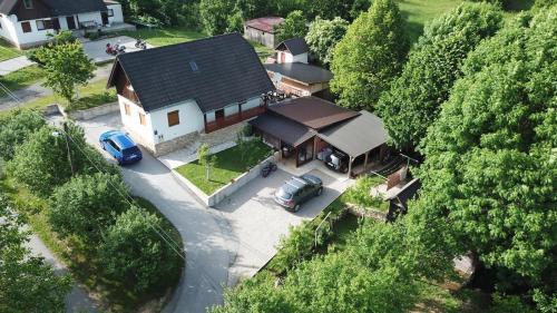 Letecký snímek ubytování Apartment Goran