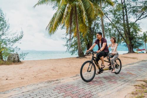 Biking at or in the surroundings of Berjaya Tioman Resort