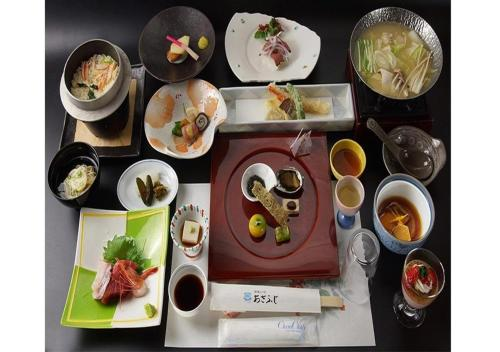 Breakfast options available to guests at Hotel Asafuji