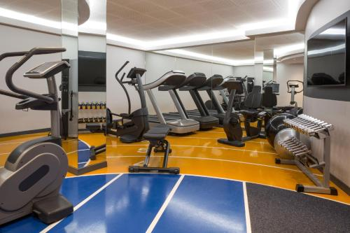 The fitness center and/or fitness facilities at Novotel Genève Centre