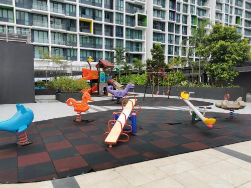 Children's play area at Jazz Suite Vivacity Megamall Kuching