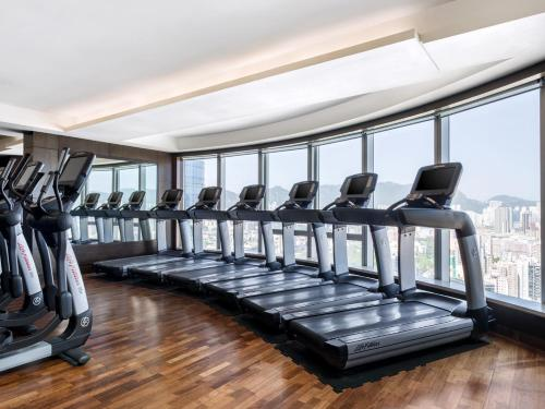 The fitness center and/or fitness facilities at Cordis, Hong Kong