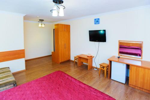 Телевизор и/или развлекательный центр в Гостиница Москва