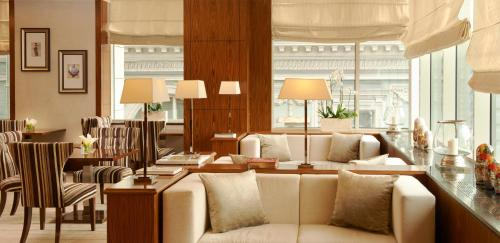 The lounge or bar area at InterContinental Moscow Tverskaya, an IHG Hotel